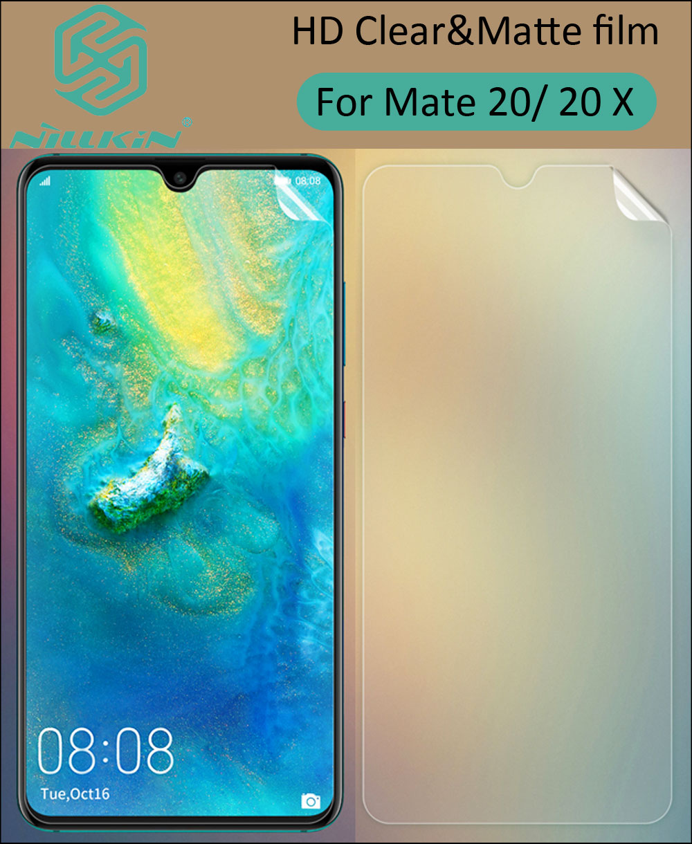 Nillkin HD Clear Transparent Screen Protective Film For Huawei Mate 20 X 20X
