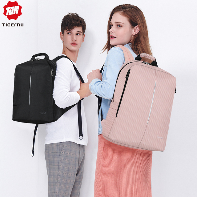 Tigernu 2019 New Fashion Backpack Men 4.0A USB Charging 15.6 inch Laptop Travel Bags Multifunction Male Female Schoolbags Casual 5