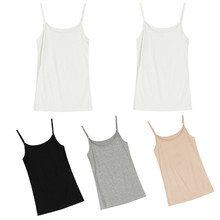 Women Sexy Lingerie Slim Sleeveless Vest Adjustable Strap Camisoles Tanks Underwear