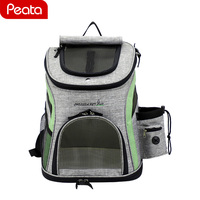 Pet Carrier Backpack Outdoor Fashion Travel Products Breathable Shoulder Handle Bags for Small Dog Cats Chihuahua Dog carriers Y