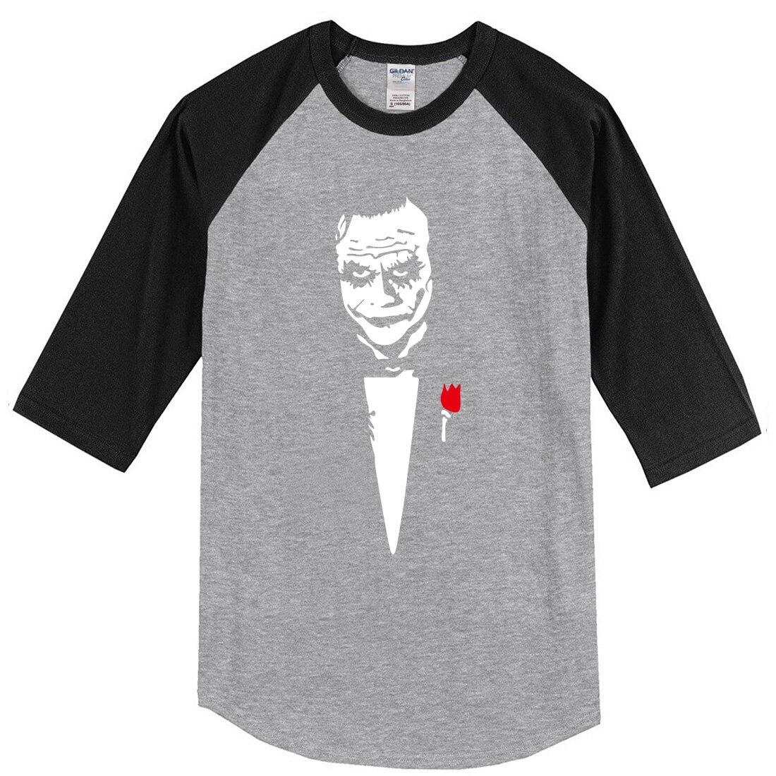 New Arrival 2018 Summer T-shirt For Men Joker Heath Ledger Why So Serious Cotton Raglan Tshirt Mens Sportswear Top T shirt Hot