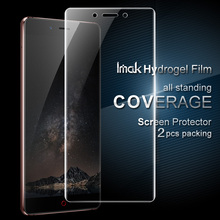 For Nubia Z11 Protector Film iMAK Hydrogel Coverage Soft Protective Mini S Screen