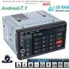 Free Camera Android 7 1 2GB RAM 1024 600 Car GPS 2Din Radio Universal Car DVD