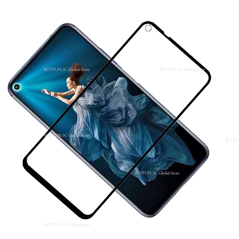 Image 4 - Protective Glass On Honor 20 Tempered Glass For Huawei Honor 20 Huaweii honor20 YAL L21 L41 Glas Screen Protector Film Cover 9H-in Phone Screen Protectors from Cellphones & Telecommunications