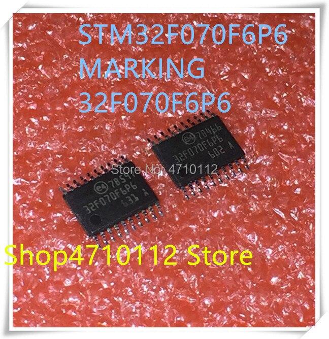 10PCS STM32F070 STM32F070F6P6 TSSOP20
