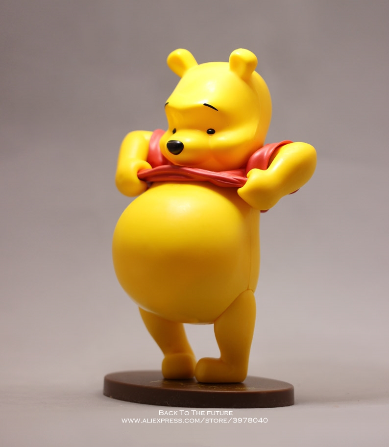 Image 2 - Disney Winnie the Pooh 22cm Action Figure Anime Decoration Collection Figurine Toy model for children giftAction & Toy Figures   -