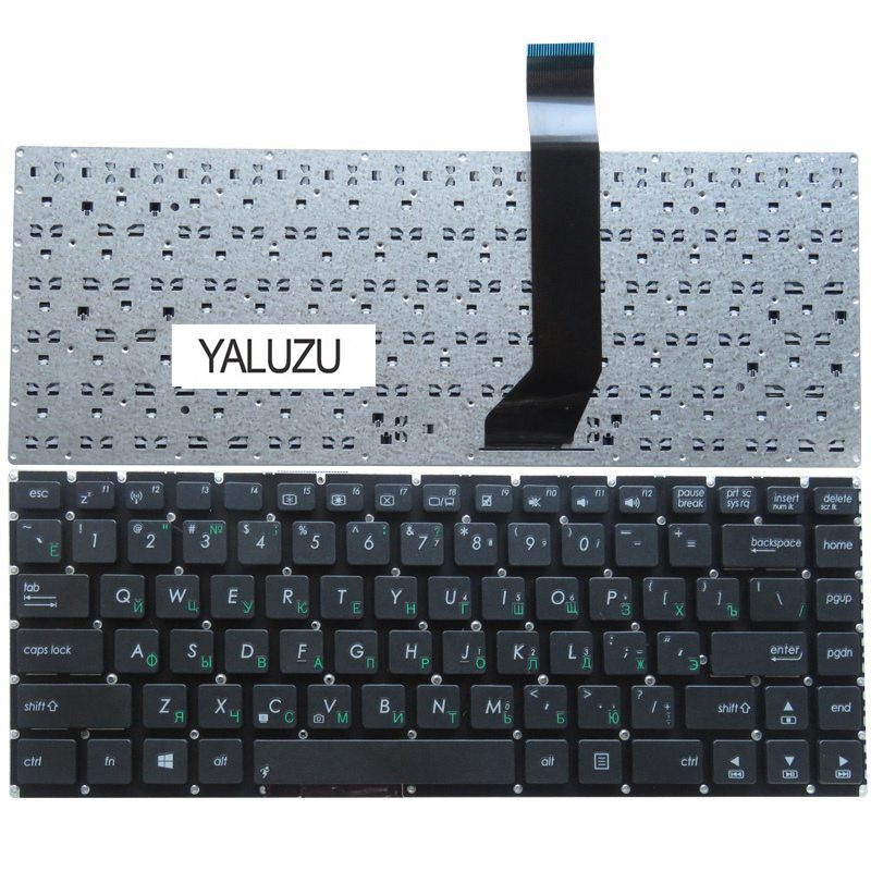 YALUZU Russia NEW <font><b>Keyboard</b></font> FOR <font><b>ASUS</b></font> AK46 S46 S46C <font><b>K46CM</b></font> R405C E46C S405C K46 RU laptop <font><b>keyboard</b></font> image