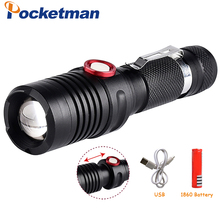 LED Tactical Flashlight Brightest Handheld Flashlights Zoomable LED Flashlight 5000 Lumens Handheld Flash Light in Emergency 15