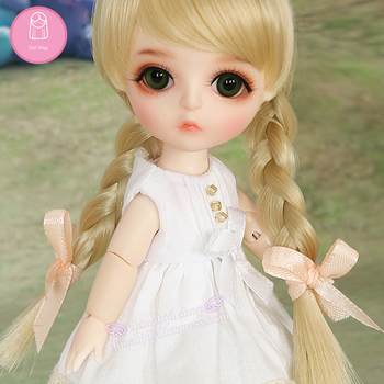 Wig For Doll BJD Lovely hair all 1/8 Lovely-temperatureCurly Wigs doll Lovely Wig in beauty The princess hair L8-04#613color фото