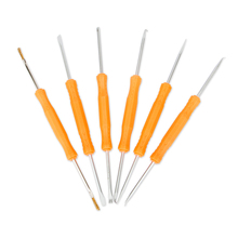 Jakemy JM-Z01 Mobile Phone Tools Set Needle Reamer Fork Knife 6 in1 Soldering Assist Tool Sets for iPhone, Ipad, Samsung