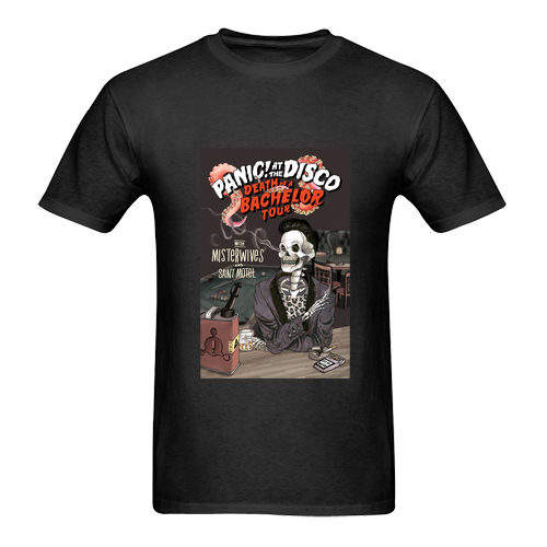 NEW HOT! Panic At The Disco Death Tour Dates T-Shirt Size M to 2XL