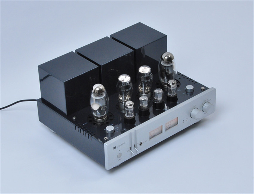 MUZISHARE X10 KT150*2 Integrated Tube Amplifier Double Vacuum Tube Rectification Single-end Class A 22W*2 power amplifier tube amplifier hifi shuguang kt100 2 x 15w dual mono block integrated single ended russian 6h1 preamp usa 6ak5 driving amplifier
