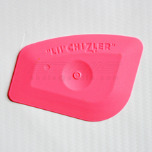 Mini Pink Squeegee LIL' CHIZLER TOOL Ice Scraper Vinyl Tint Stickers Decals Kitchen Home Cleaning Squeegee A61