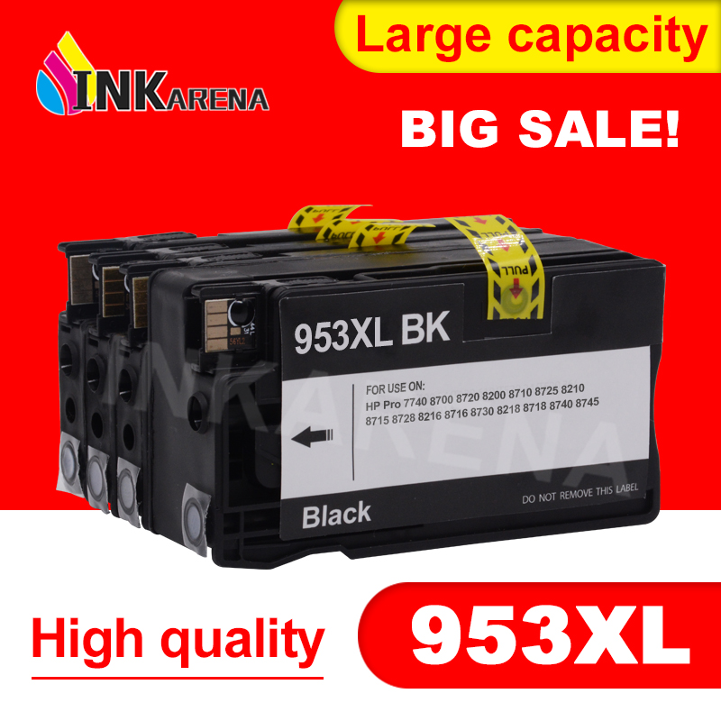 INKARENA Compatible Ink Cartridge 953 953XL for HP Pro 7740 8210 8218 8710 8715 8718 8719