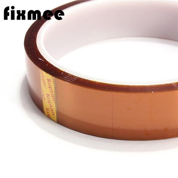 где купить Free shipping 2PCS/Lot 20MM High Temperature Resistant Tape,Gold BGA Tape,Thermal Insulation Tape BGA dedicated Tape по лучшей цене