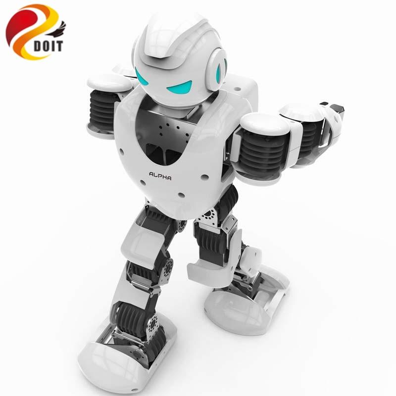 цена на Official DOIT Alpha 1s Programmable Humaniod Robot Humanoid Alpha Robot Intelligent Life Companion Entertainment Educational
