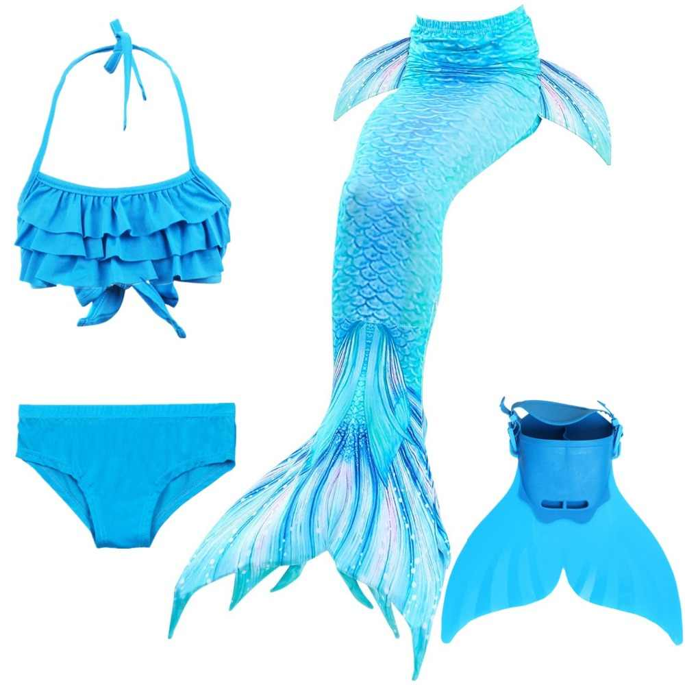 c87a19a7893c1 NEW! Kids Children Mermaid Tails for Swimming Mermaid tail with Monofin  Girls Costumes Swimmable Swimsuit