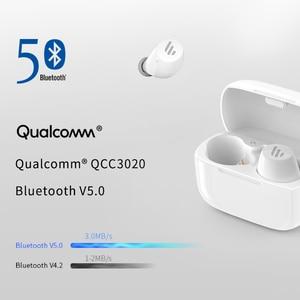 Image 4 - EDIFIER TWS1หูฟังไร้สายบลูทูธ5.0 AptX Touch Control IPX5 Ergonomic Designหูฟังไร้สายบลูทูธหูฟัง