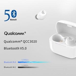Image 4 - EDIFIER TWS1 Điều Khiển Cảm Ứng IPX5 Đánh Giá Thiết Kế Công Thái Học Bluetooth V5.0 TWS Tai Nghe Nhét Tai Bluetooth Tai Nghe Nhét Tai Không Dây