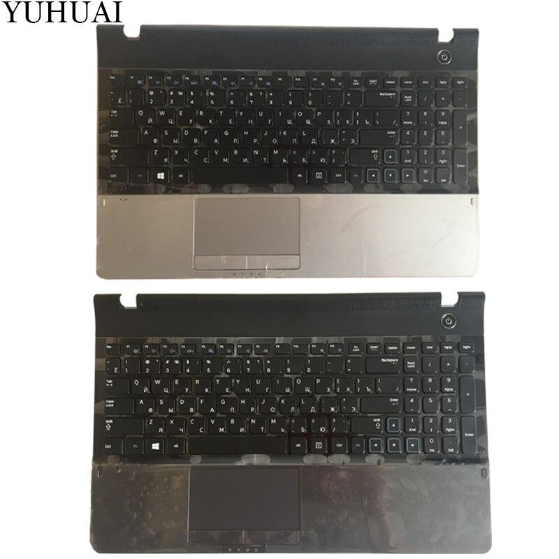 Neue Für samsung NP300E5A NP305E5C NP300e5x NP305E5A 300E5A 300E5C 300E5Z Russisch RU laptop-tastatur mit fall Palmrest Touchpad