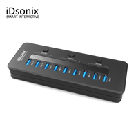 IDsonix Super Speed USB 3 0 10 Ports HUB 5V 2 1A Smart Charging With 3
