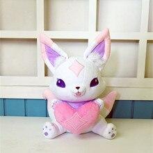 Star Guardian Ahri маленькая милая лиса Кико талисман Аниме Мягкие и плюшевые Мультяшные куклы 33 см