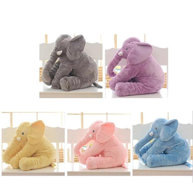65 cm de altura grande felpa elefante muñeca juguete niños - Peluches y felpa - foto 3