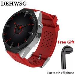 Dehwsg KW88 Pro Смарт часы для samsung Шестерни S3 спортивные часы монитор сердечного ритма gps Wi-Fi Smartwatch Android 7,0 часы телефон Новый