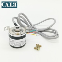 CALT 38mm outer Optical Rotary encoder 6mm Blind Hollow Shaft Incremental Encoder Push pull output