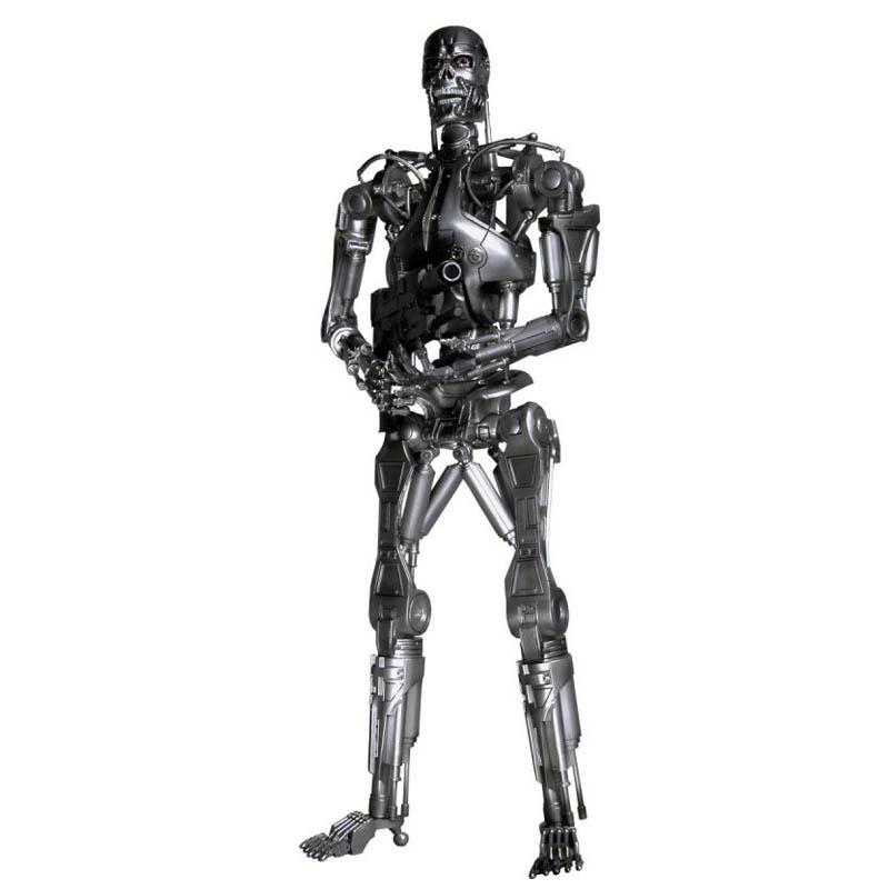 Free Shipping NECA Terminator 2 Judgment Day T-800 Endoskeleton Pvc Action Figure Robot Toys 7 18cm Mvfg096 neca terminator 2 judgment day t 800 arnold schwarzenegger pvc action figure collectible model toy 7 18cm kt1818