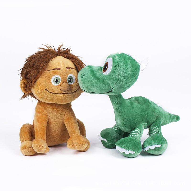 22cm Pixar Movie The Good Dinosaur Spot & Dinosaur Arlo Plush Toys Doll Soft Stuffed Animals Toys For Kids Children Gifts