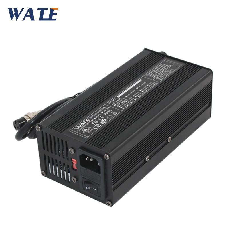 Зарядное устройство 67,2 в, 5 А, 60 в, 5 А, литий-ионное зарядное устройство 110 В/220 В, 50-60 Гц для 16 с, 60 В, литиевый аккумулятор, быстрая зарядка