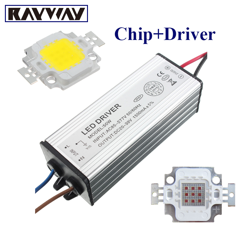 High Power Epistar COB LED Chip 10/20/30/50/100W SMD For Floodlight Spotlight R/G/B/Whit ...