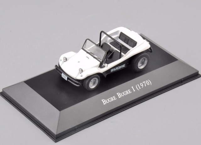 Atlas 1/43 Scale Alloy Diecast Bugre Bugre I (1970) Type Car Truck Display Model Collectible brinquedos boys Gifts