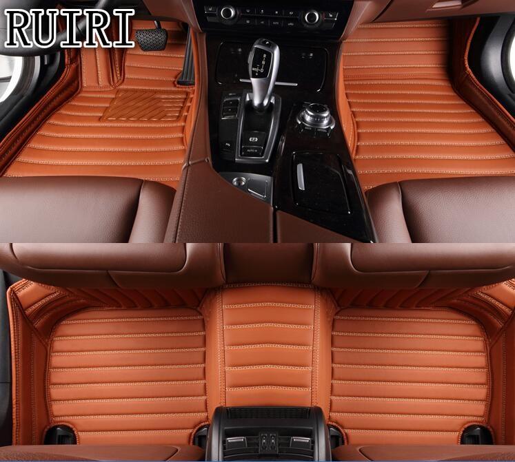 Buona stuoie! Personalizzato speciale tappetini per Toyota Camry 2018 impermeabile resistente all'usura tappeti per Camry 2019, Trasporto libero