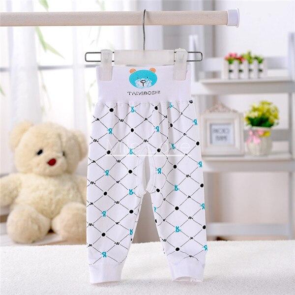 9f04d8210 Calças do bebê Minúsculo Urso de Algodão Cintura Alta Roupas Da Menina do  Menino Da Criança Recém-nascidos 6-9 M Calças Pantalon Casuais Bebê roupas  Broek