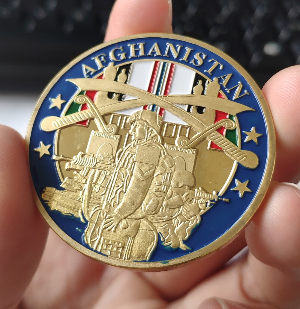 Operation Enduring Freedom Afghanistan Challenge Coin  (2)