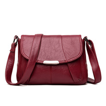Women's Bag Leather Luxury Handbag Women Bags