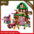 Bela 10502 348pcs Friends Series The Starlight Inn Model Building Blocks Beautiful Toys For Children Gifts Compatible With 41174