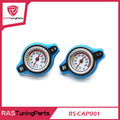 D1 Spec RACING Thermost Radiator Cap + Water Temp Gauge 0.9/1.1/1.3 BAR Cover  RS-CAP001