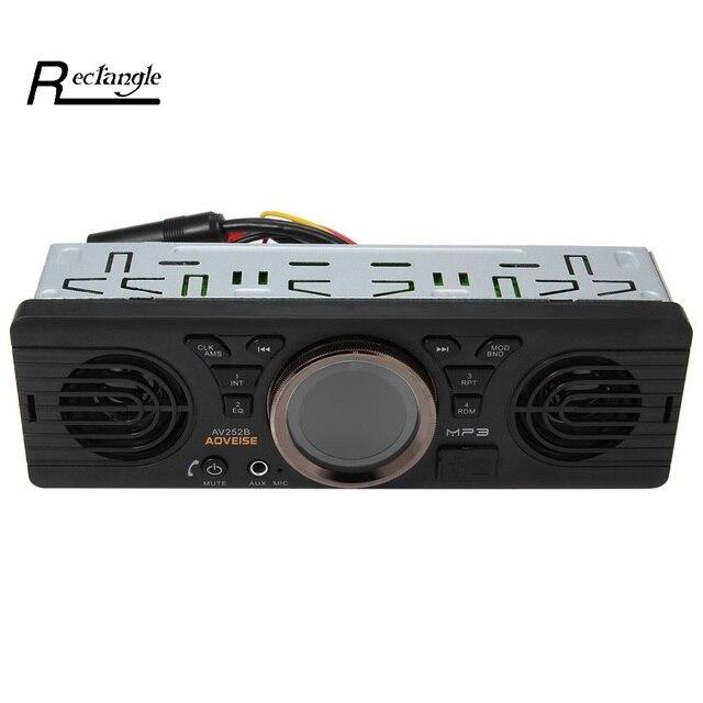 Vehicle Electronics In-dash MP3 Audio Player Car Stereo FM Radio AV252B 12V Bluetooth 2.1 + EDR with USB TF Card Port