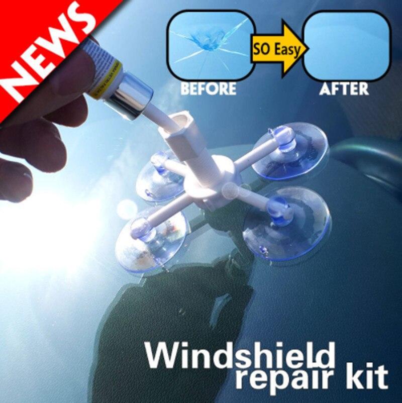 Car windshield repair tool For Cadillac CT6 XT5 ATS-L XTS SRX CTS STS ATS ESCALADE CTS EMBLEM Accessories