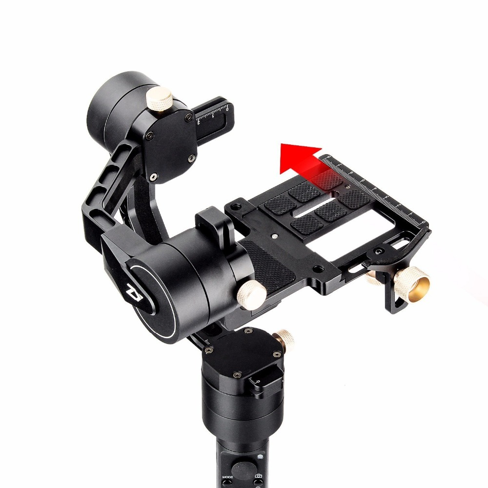 Zhiyun Crane Plus 3 Axis Handheld Gimbal for Sony Canon DSLR Mirrorless Camera 5.5lb Payload Timelapse Object Track FPV POV Mode