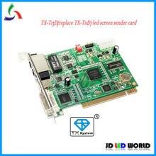 TX-T13D (substituir a versão antiga TX-T11D) Full-Color DVI Mestre Verdadeiro & Excelente vídeo RGB levou controlador de tela envio de cartão