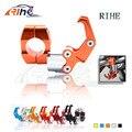6 colores opcionales de aleación de aluminio porta-casco de motocicleta moto accesorios de orange colores mango bar para honda/yamaha
