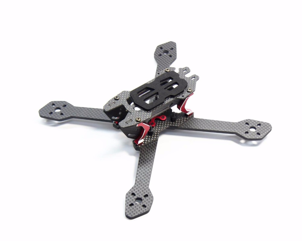 DALRC Title X212 212mm Carbon Fiber Frame Kit 4mm Independent Arm For FPV Racing Drone Support 2205 2206 2305 2306 2600KV Motor