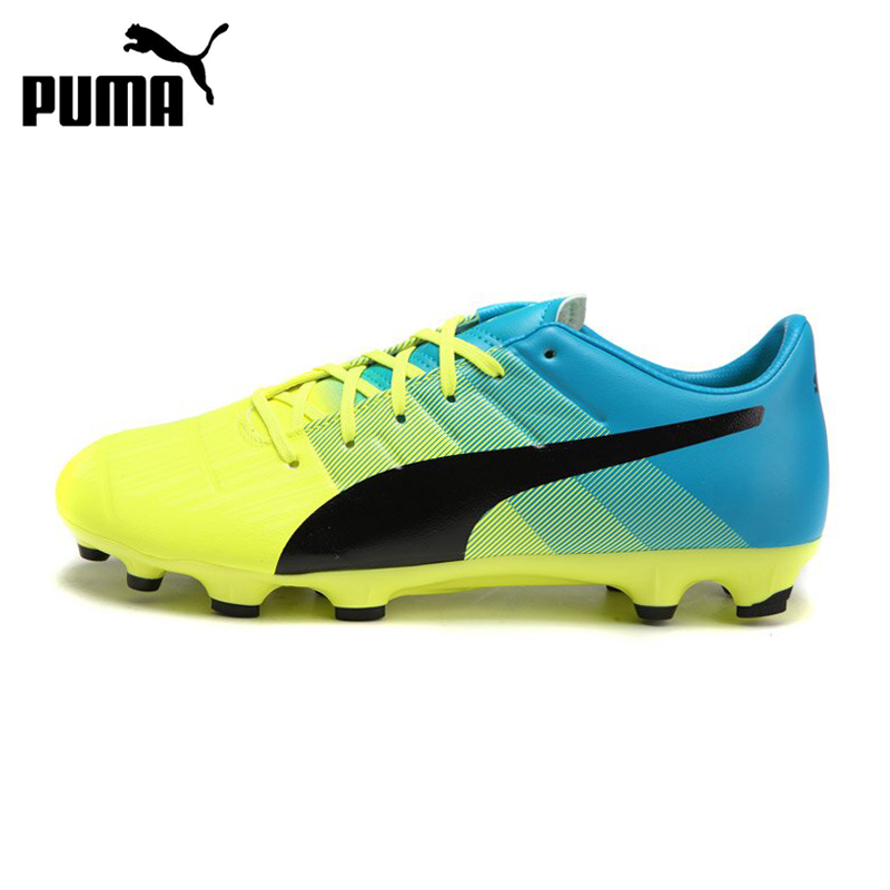 Original PUMA evoPOWER 3.3 AG Power Men's Soccer Shoes Football Sneakers tiebao a13135 men tf soccer shoes outdoor lawn unisex soccer boots turf training football boots lace up football shoes