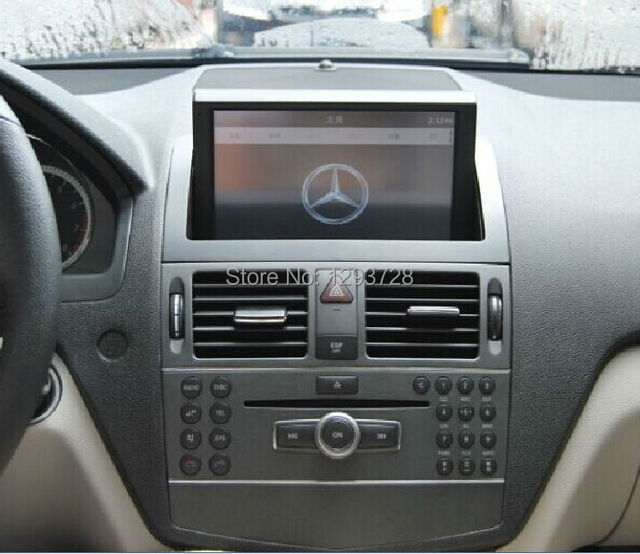 mercedes w204 car audio system mercedes c class dash radio. Black Bedroom Furniture Sets. Home Design Ideas