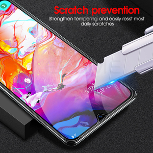 Image 4 - 2 in 1 Completo di Vetro Temperato per Samsung Galaxy A70 Un 70 A705F SM A705FN A70 A80 A90 A60 A50 A40 a30 A20 A10 Obiettivo Della Fotocamera Film Morbido