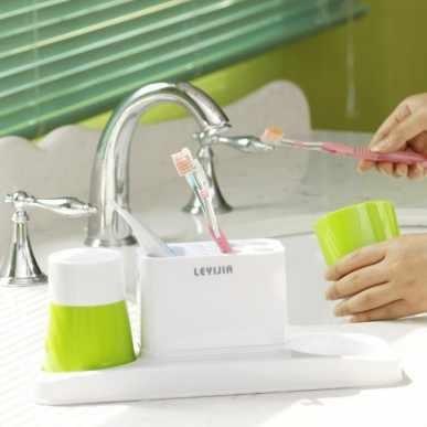 BF050 miłośników szczoteczki do zębów zestaw świeczników uchwyt na kubek z dwoma kubek do zębów praktyczna łazienka półki mogą przytrzymaj kubek 30*10*11.5 CM